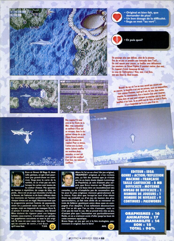 Joypad 016 - Janvier 1993 -source Abandonware Magazine