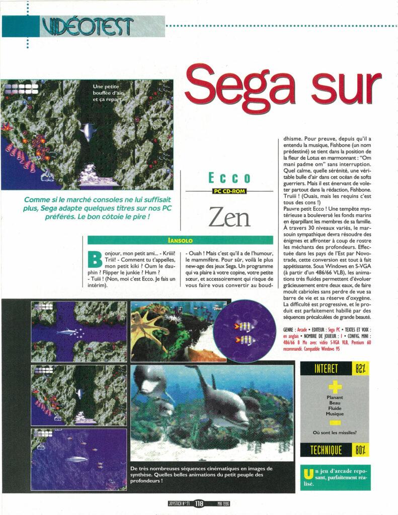 Joystick 071 - Mai1996 -source Abandonware Magazine