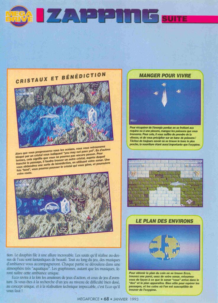 MEGA Force 013 - Janvier 1993 -source Abandonware Magazine