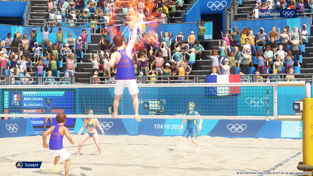 Jeux Olympiques 2020 : Beach Volley façon Beach Spikers ?