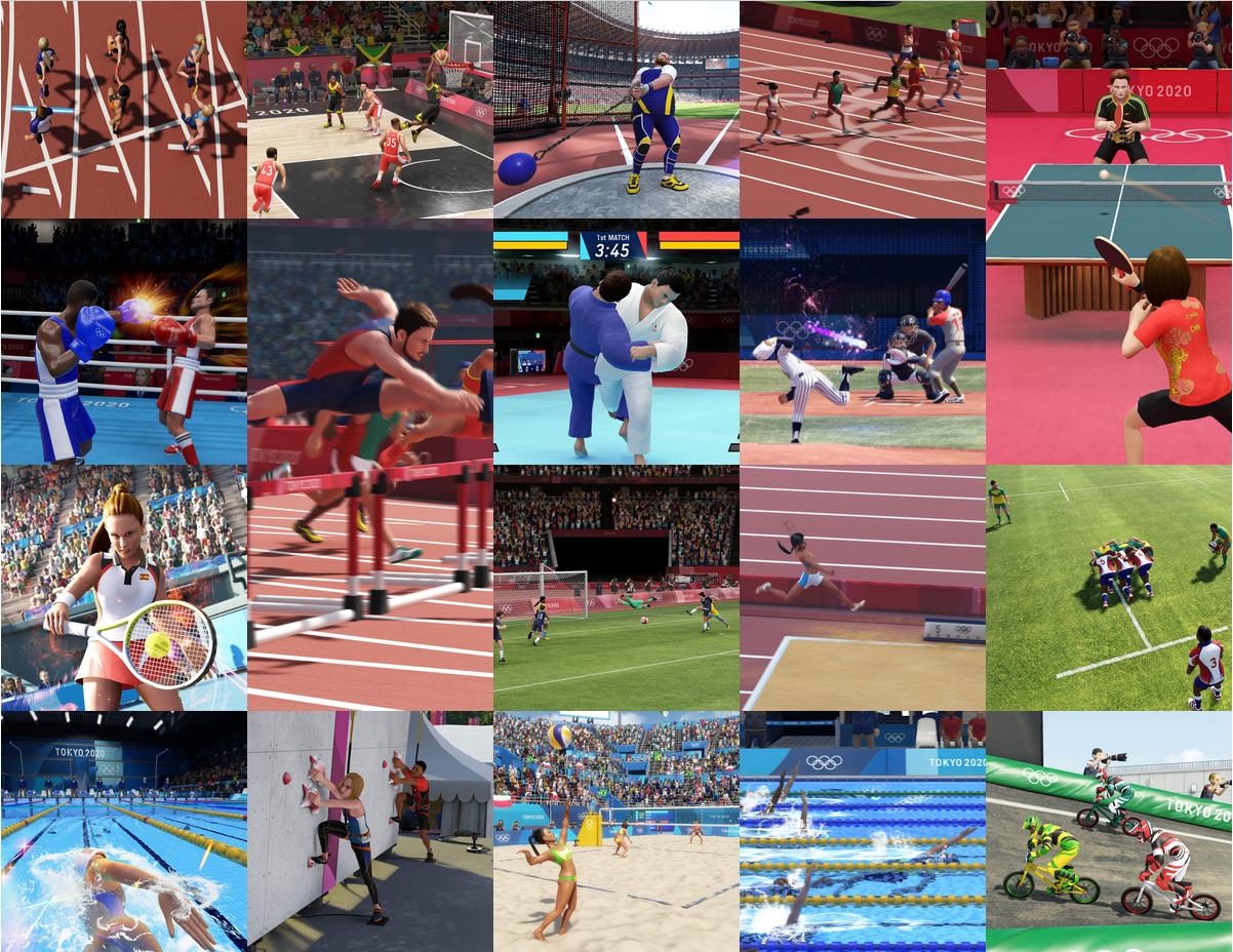 Jeux Olympiques 2020 : les 18 épreuves représentées