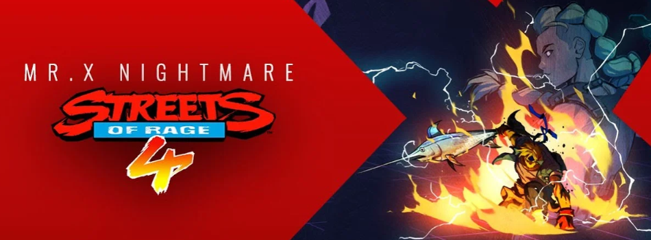 DLC Mr X Nightmare pour Streets of Rage 4