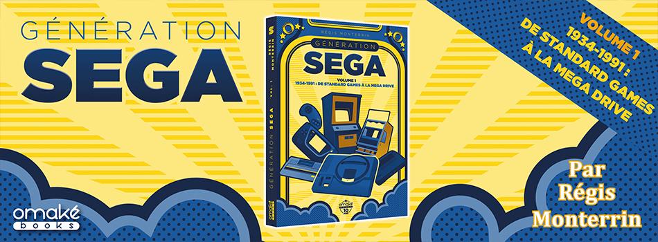 Les coulisses de Génération SEGA volume 1 – Omake Books